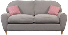 Regina Fabric 3 Seater Sofa