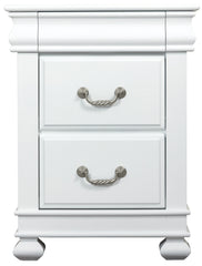 Storm 2 Drawers Bedside Table