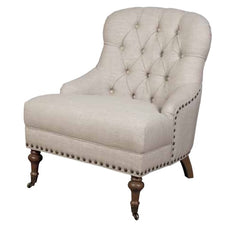 AnnaghmoreChantal Beige Bedroom ChairBlue Ocean Interiors