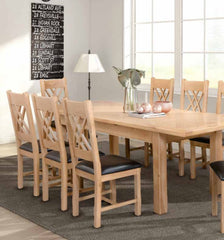 AnnaghmoreClonmel 180cm Butterfly Extension Dining SetBlue Ocean Interiors