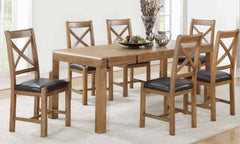 Oakridge Dark 5' Dining Set