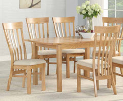 Kilmore Oak 4 x 2.5 Extension Dining Set