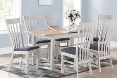 Kilmore Painted 4 x 2.5 Extension Dining Set
