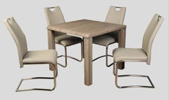 AnnaghmoreEncore Havana Dining Table with 4 Claren Khaki ChairsBlue Ocean Interiors