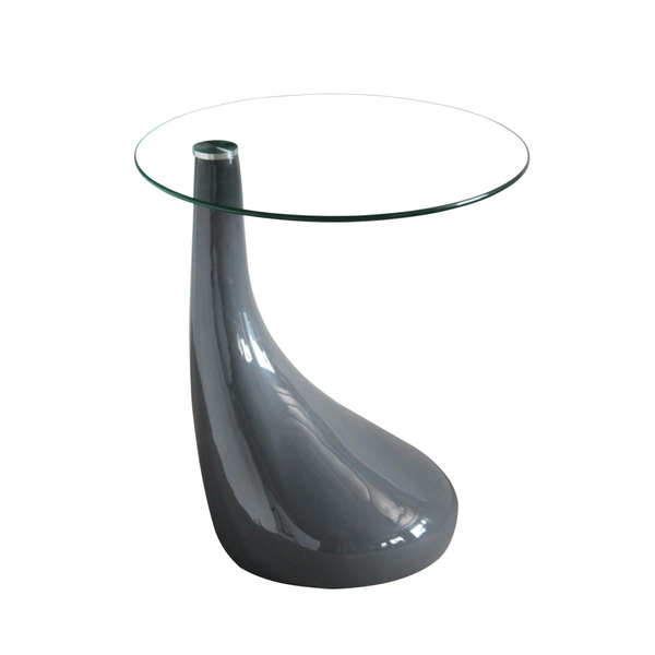 Heartlands FurnitureChilton Lamp Table in High Gloss Black, Red or WhiteBlue Ocean Interiors