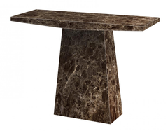Senegal Marble Console Table