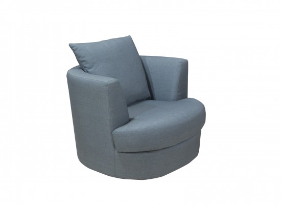 LPD FurnitureBliss Small Snug Swivel ChairBlue Ocean Interiors
