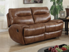 Bailey Leather Gel and PU 2 Seater Recliner