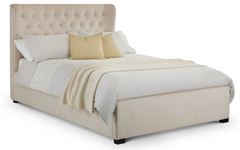 Geneva 135cm Winged Headboard Bed