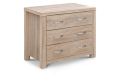 Hamilton 3 Drawer Bedside