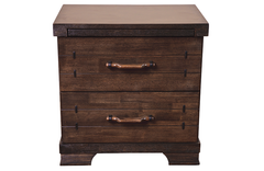 Mozart 2 Drawer Bedside