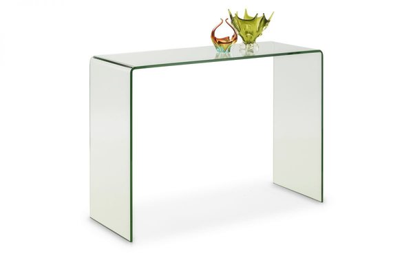 Amalfi Bent Glass Console Table