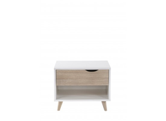 Stockholm 1 Drawer Bedside  bedside table- Blue Ocean Interiors