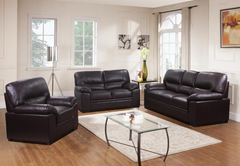 Rachel LeatherGel 3 Seater Sofa