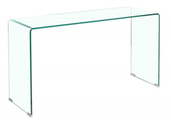 Heartlands FurnitureAngola Clear Glass Console TableBlue Ocean Interiors