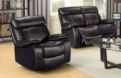 Vancouver Leather Manual Recliner