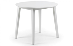 Coast Dropleaf White Dining Table