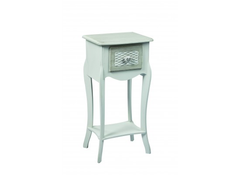 LPD FurnitureBrittany 1 Drawer Bedside TableBlue Ocean Interiors