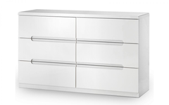 Manhattan 6 Drawer Wide Chest