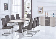 Belarus Extending Dining Table with 6 Chairs