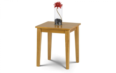 Cleo Lamp Table in Light Oak Finish