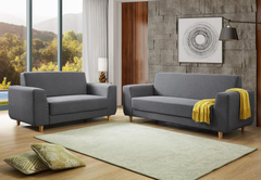 Heartlands FurnitureFida 3+2 Fabric Sofa SetBlue Ocean Interiors