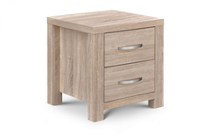 Hamilton 2 Drawer Bedside