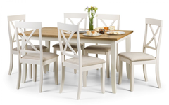 Davenport Rectangular Dining Table with 6 Chairs