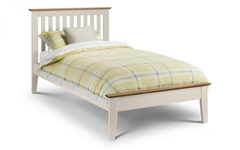 Salerno Single Bed in Two Tone Finish