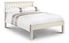 Julian BowenBarcelona Stone White 3' Single Bed Low FootBlue Ocean Interiors