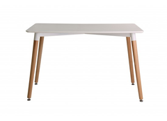LPD FurnitureFraser Dining Table White TopBlue Ocean Interiors