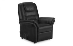 Riva Rise and Recliner in Dark Brown, Black or Cappuccino