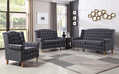 Nepal Fabric 3+2 Sofa Set