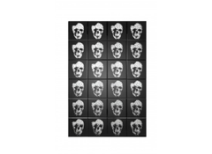 Valentina Mirrored Skull Print  picture- Blue Ocean Interiors