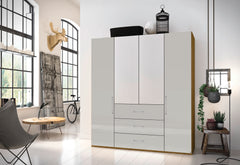 Balis Hinged Door Combi Wardrobe 3 Widths