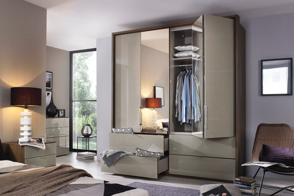 RauchErimo 6 Door Combi with 2 Drawers in Wood or Glass Doors W306cmBlue Ocean Interiors