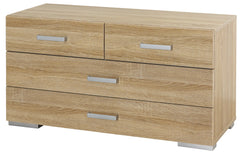 Harvard 4 Drawer Cupboard  chest of drawers- Blue Ocean Interiors