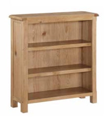 Kilmore Oak Low Bookcase