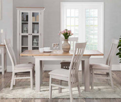 Lyon Painted 120cm Dining Set