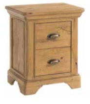 Lyon 2 Drawer Nightstand