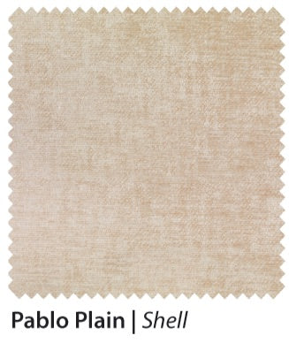 Amber 180cm Divan Base in Pablo Plain, Chenille or Executive Fabric Finish