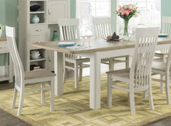 Treviso Painted 4' Extending Dining Table with 4 Chairs