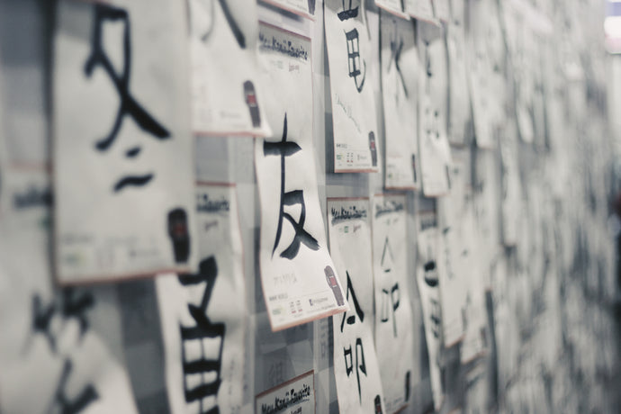What are Chinese and Japanese calligraphies, and how are they different?