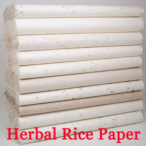 10-Sheets Chinese Yunlong Herbal Rice Paper Paper