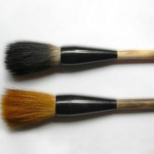2-Piece Large Weasel & Rabbit Hair Calligraphy Brushes + Holder