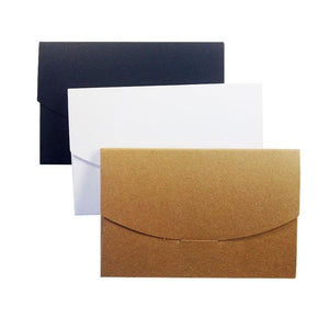 Blank Kraft Paper Box Envelopes