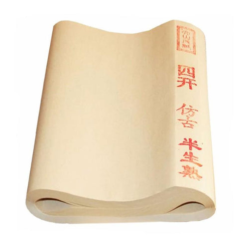 Chinese Archaize Rice Paper For Calligraphy