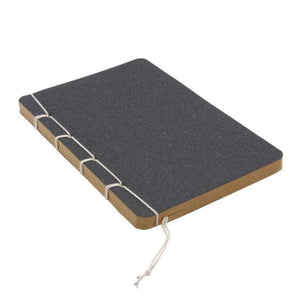 Classic Hardcover Thread Bound Journal Notebook - 5 Colors Available Dark Grey / A5