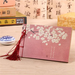 Hand Bound Chinese Style Blank Book - 3 Styles A