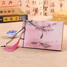 Hand Bound Chinese Style Blank Book - 3 Styles B